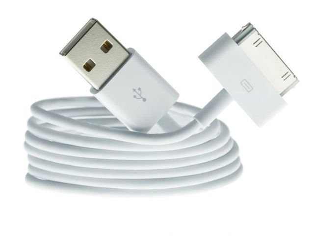 Kabel 30 pin USB do iPhone 4 4S 3GS 3G 3 iPod iPad 2 3 - zamiennik