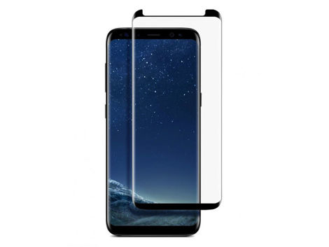 Mocolo TG+3D szkło na ekran case friendly do Samsung Galaxy S8 czarne