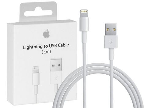 Oryginalny kabel Apple Lightning 1m MD818ZM/A iPhone biały BOX