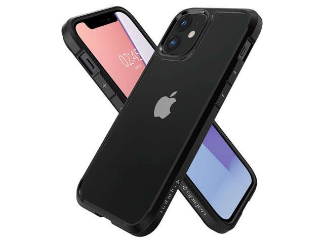 Spigen Etui na telefon Ultra Hybrid do Apple iPhone 12 Mini Matte Black