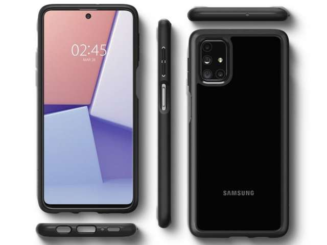 Spigen Ultra Hybrid Etui do Samsung Galaxy M31s Matte Black