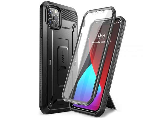 Supcase Etui na telefon Unicorn Beetle Pro do iPhone 12 Pro Max 6.7 Black