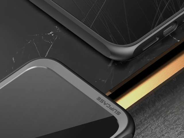 Supcase Etui na telefon Unicorn Beetle Style do iPhone 12/ Pro 6.1 Black