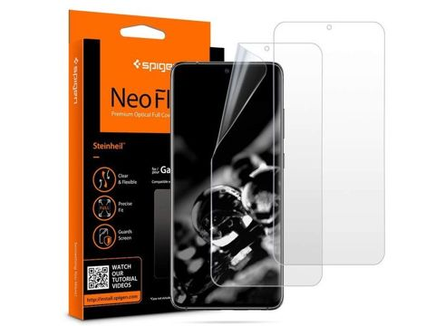 2x Folia na telefon Spigen Neo Flex HD do Galaxy S20 Ultra Case Friendly