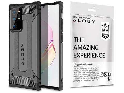 Alogy Etui na telefon Hard Armor do Samsung Galaxy Note 20 Ultra szare